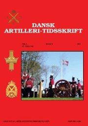 DANSK ARTILLERI-TIDSSKRIFT - Artilleriofficersforeningen
