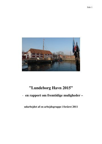 Rapport - Lundeborg Havn 2015