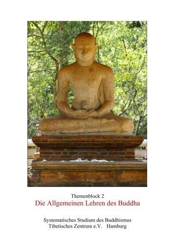Die Allgemeinen Lehren des Buddha