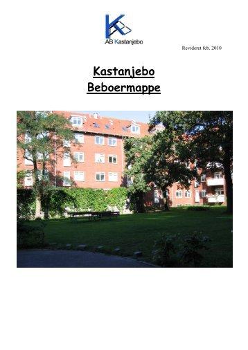 Indflyttermappe, A/B Kastanjebo