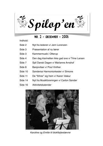 Nr. 2 - december - 2008 - Nordfyns Musikskole