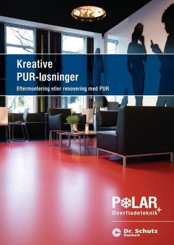 Kreative PUR-løsninger - Kristiania Renhold