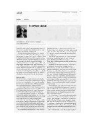 Kronik af Speciallæge Finn G. Becker-Christensen fra Ugeskrift for ...