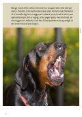 HVIS HUNDEN ER AGGRESSIV - Dyrenes Beskyttelse - Page 2