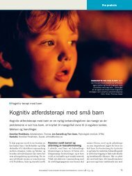 100857 GRTID Psykologi 1101.indb - Tidsskrift for Norsk ...