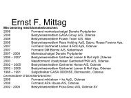 Ernst F. Mittag - Danske Prydplanter
