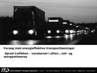 International Transport Danmark - Trafikdage.dk