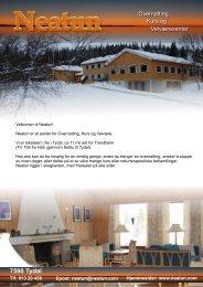 7590 Tydal - Neatun - Overnatting, kurs og velværesenter