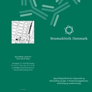 Speciallægeklinik for diagnostik og behandling af gigt - Reumaklinik ...