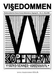 Vi§edommen nr. 2, maj 2008 - Visens Venner København
