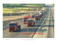 Transport af og modtagelse af Jord Power 9 marts 2010[1]