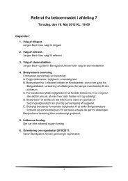 Referat fra beboermøde maj 2012 - Boligselskabet Strandparken ...