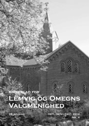 Kirkeblad for Lemvig og Omegns Valgmenighed