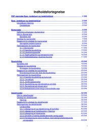 Indholdsfortegnelse - Kommuneplan 2009 for Hjørring Kommune