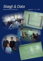 2009-4 slægt & data.pdf - DIS-Danmark