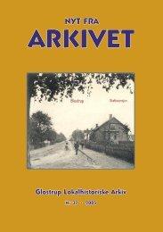 Nyt Fra Arkivet nr. 37 - Glostrup Bibliotek