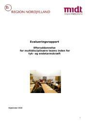 Evalueringsrapport - Aarhus Universitetshospital