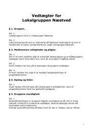 LPO Næstved - Vedtægter - Lpo Dsb