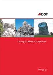 Sprængtekniske formler og tabeller - Dansk Sprængteknisk Forening