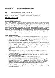 Dagskursus: Motivation og arbejdsglæde - DcH Kreds 1