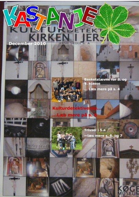 Kastaniebladet vinter 2010 - Uglegaardsskolen