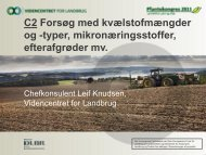 typer, mikronæringsstoffer, efterafgrøder mv. - Videncentret for ...