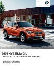BMW X1 - BMW Danmark