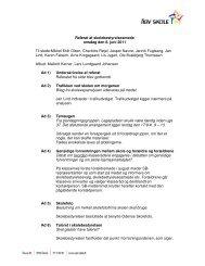 Referat af skolebestyrelsesmøde onsdag den 8. juni 2011 Til stede ...