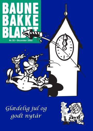 Glædelig jul og godt nytår - Baunebakken