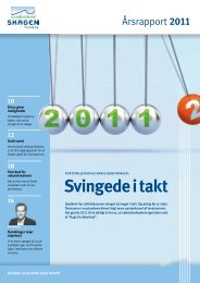 Årsrapport 2011 - SKAGEN Fondene