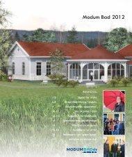 Årsrapport 2012 - Modum Bad