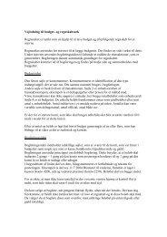 Vejledning til budget- og regnskabsark Regnearket er tænkt som en ...