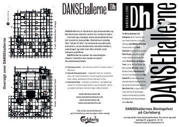 Oversigt over DANSEhallerne - Dansens Hus