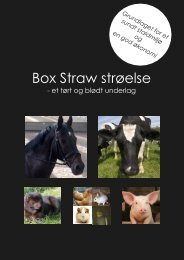 Box Straw strøelse