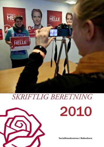 SKRIFTLIG BERETNING - Socialdemokraterne i København