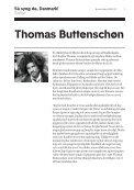 Så syng da, Danmark DR PigeKoret Solist: Thomas Buttenschøn ... - Page 3