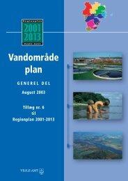 Vandområdeplan, generel del, vandløb - Biotop