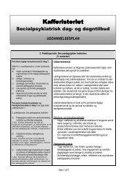 Uddannelsesplan for 2 praktikperiode 16-03-10 - Holstebro Kommune