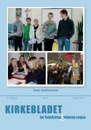 Kirkebladet september 2011 - Smidstrup og Skærup Kirker