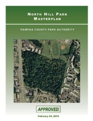 North Hill Park Master Plan - Fairfax County Government