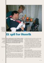 Et spil for Henrik - Hjælpemidler