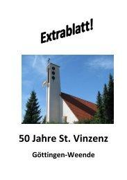 50 Jahre St. Vinzenz, Göttingen-Weende