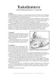 Nummer 4 - november 2005, Tyveknægte og retsvæsen - Hyllinge
