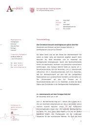 Pressemitteilung zu den Weihnachtsmärkten - Amelinghausen