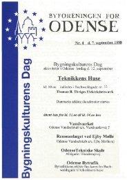 Bygningskulturens Dag - Byforeningen for Odense