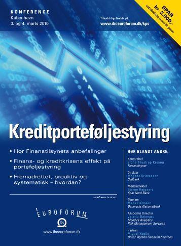 Kreditporteføljestyring - IBC Euroforum