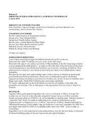 Referat fra generalforsamlingen 2/3-2010 - Albertslund Rideklub