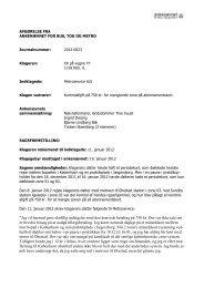 Afgørelse 2012-0023, 26. marts 2012 - Ankenævnet for Bus, Tog og ...