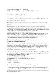 Oevelse 2 - Niels Bohr Institutet