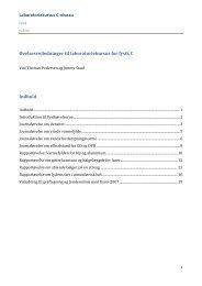 Laboratoriekursus C-niveau - KVUC